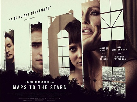 locandina film maps to the stars