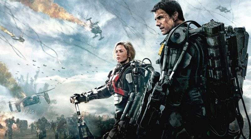 locandina film edge of tomorrow senza domani con tom cruise e emily blunt