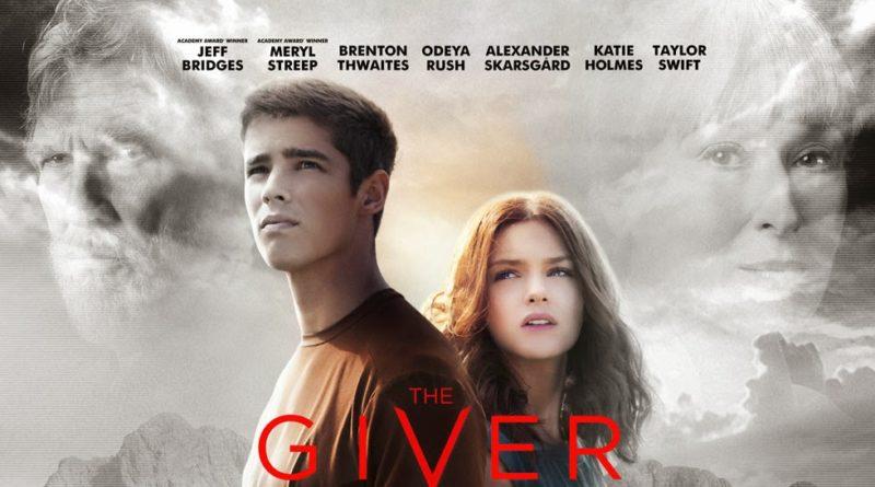 locandina del film the giver con brenton thwaites e taylor swift