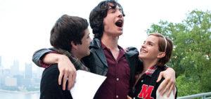 i tre ragazzi protagonisti del film noi siamo infinito, tra cui emma watson