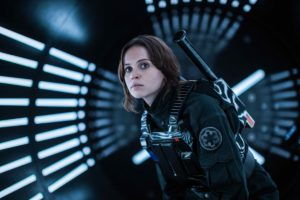rogue one protagonista felicity star wars